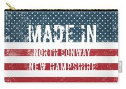 Made In North Conway, New Hampshire Carry-all Pouch