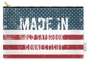 Made In Old Saybrook, Connecticut Carry-all Pouch