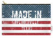 Made In Pflugerville, Texas Carry-all Pouch