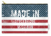 Made In Stockbridge, Michigan Carry-all Pouch