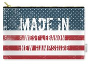 Made In West Lebanon, New Hampshire Carry-all Pouch