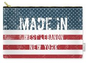 Made In West Lebanon, New York Carry-all Pouch