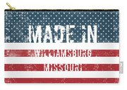 Made In Williamsburg, Missouri Carry-all Pouch