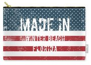Made In Winter Beach, Florida Carry-all Pouch