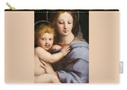 Madonna Of The Candelabra Carry-all Pouch