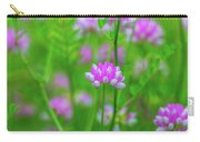 Magenta Wildflower Carry-all Pouch