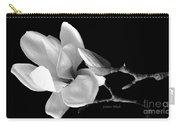Magnolia In Monochrome Carry-all Pouch