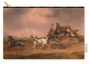 Mail Coaches On The Road Carry-all Pouch
