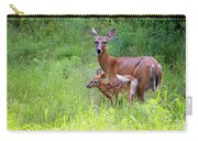 Maine White Tailed Deer Carry-all Pouch