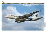 Malaysia Airlines Airbus A380 Carry-all Pouch
