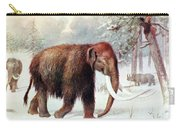 Mammoth, Cenozoic Mammal Carry-all Pouch