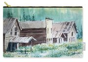 Mammoth Ghost Town Montana Carry-all Pouch