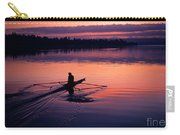 Man Rowing On Montlake Cut Carry-all Pouch