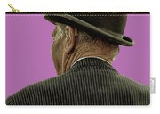 Man With A Bowler Hat Carry-all Pouch