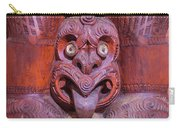 Maori Carving New Zealand Carry-all Pouch