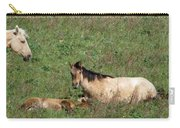 Mare And Colt Carry-all Pouch