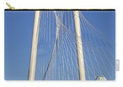Margaret Hunt Hill Bridge In Dallas - Texas Carry-all Pouch