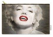 Marilyn Monroe Portrait Carry-all Pouch