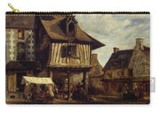 Market-place In Normandy Carry-all Pouch