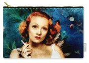 Marlene Dietrich, Vintage Actress Carry-all Pouch
