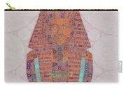 Mask Of Tutankhamun, Pop Art By Mb Carry-all Pouch