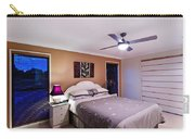 Master Bedroom At Twilight Carry-all Pouch