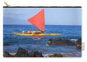 Maui Sailing Canoe Carry-all Pouch