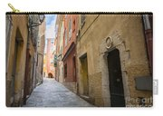 Medieval Street In Villefranche-sur-mer Carry-all Pouch