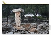 Megalithic Taula In Binisafua Menorca Bronze Age Carry-all Pouch