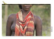 member of the Bena Tribe, Omo Valley Carry-all Pouch