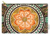 Mexican Tile Detail Carry-all Pouch