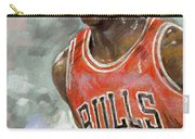 Michael Jordan Carry-all Pouch by Ylli Haruni