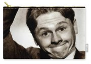 Mickey Rooney, Vintage Actor Carry-all Pouch