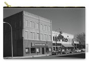 Miles City, Montana - Downtown 2 Bw Carry-all Pouch