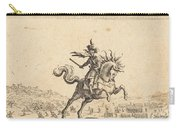 Military Commander On Horseback Carry-all Pouch