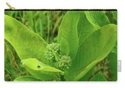 Milkweed Flower Buds  Carry-all Pouch