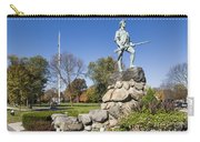 Minute Man Sculpture Carry-all Pouch