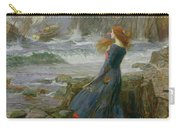 Miranda Carry-all Pouch by John William Waterhouse
