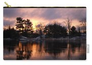 Mississippi River Dawn Light Carry-all Pouch