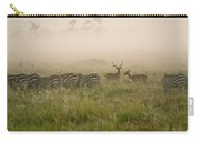 Misty Morning On The Savannah Carry-all Pouch