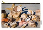 Mix Group Of Seashells Carry-all Pouch