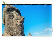 Moai Closeup Carry-all Pouch