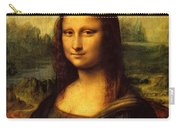 Mona Lisa Portrait Carry-all Pouch