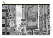 Monument Circle Carry-all Pouch by Howard Salmon