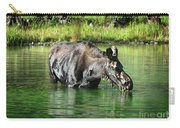 Moose In The Elk Creek Beaver Ponds Carry-all Pouch