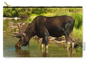 Moose Carry-all Pouch by Sebastian Musial