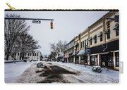 Moresville North Carolina Streets Covered In Snow Carry-all Pouch