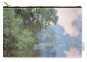 Morning On The Seine Near Giverny 1897 Carry-all Pouch