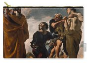 Moses And The Messengers From Canaan Carry-all Pouch