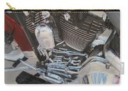 Motorcycle Close Up 1 Carry-all Pouch